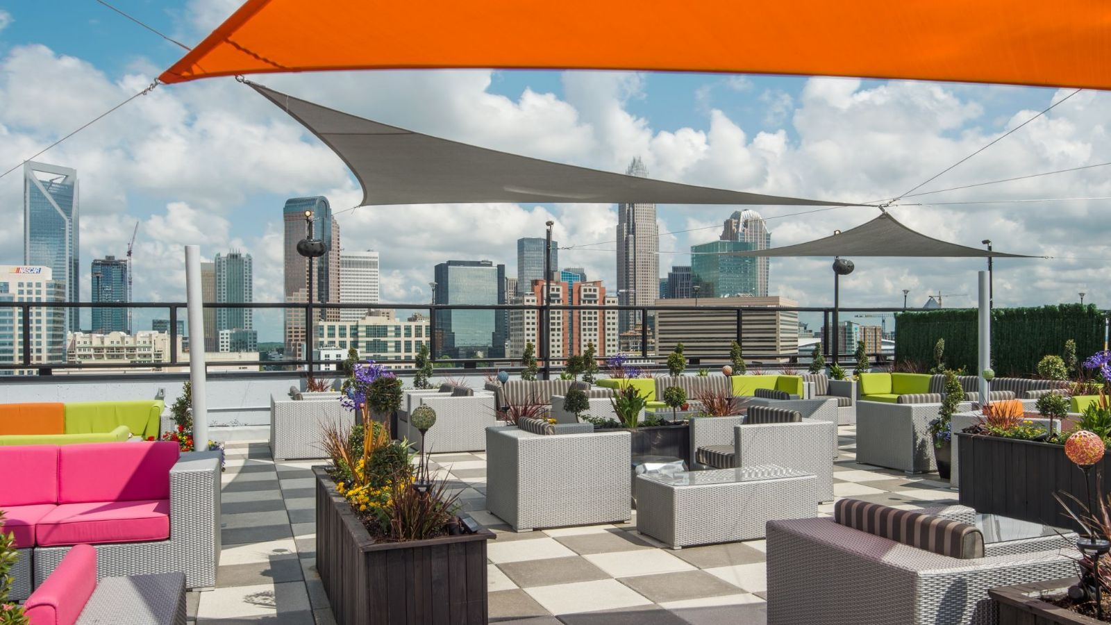 Charlotte Wedding Venues - Rooftop Ceremony