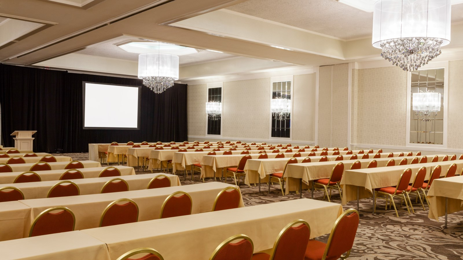 Charlotte Events - Sheraton Charlotte Hotel - Conference Set Up