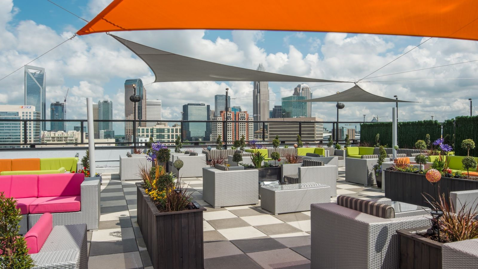 Charlotte Events - Sheraton Charlotte Hotel - City Lights Rooftop