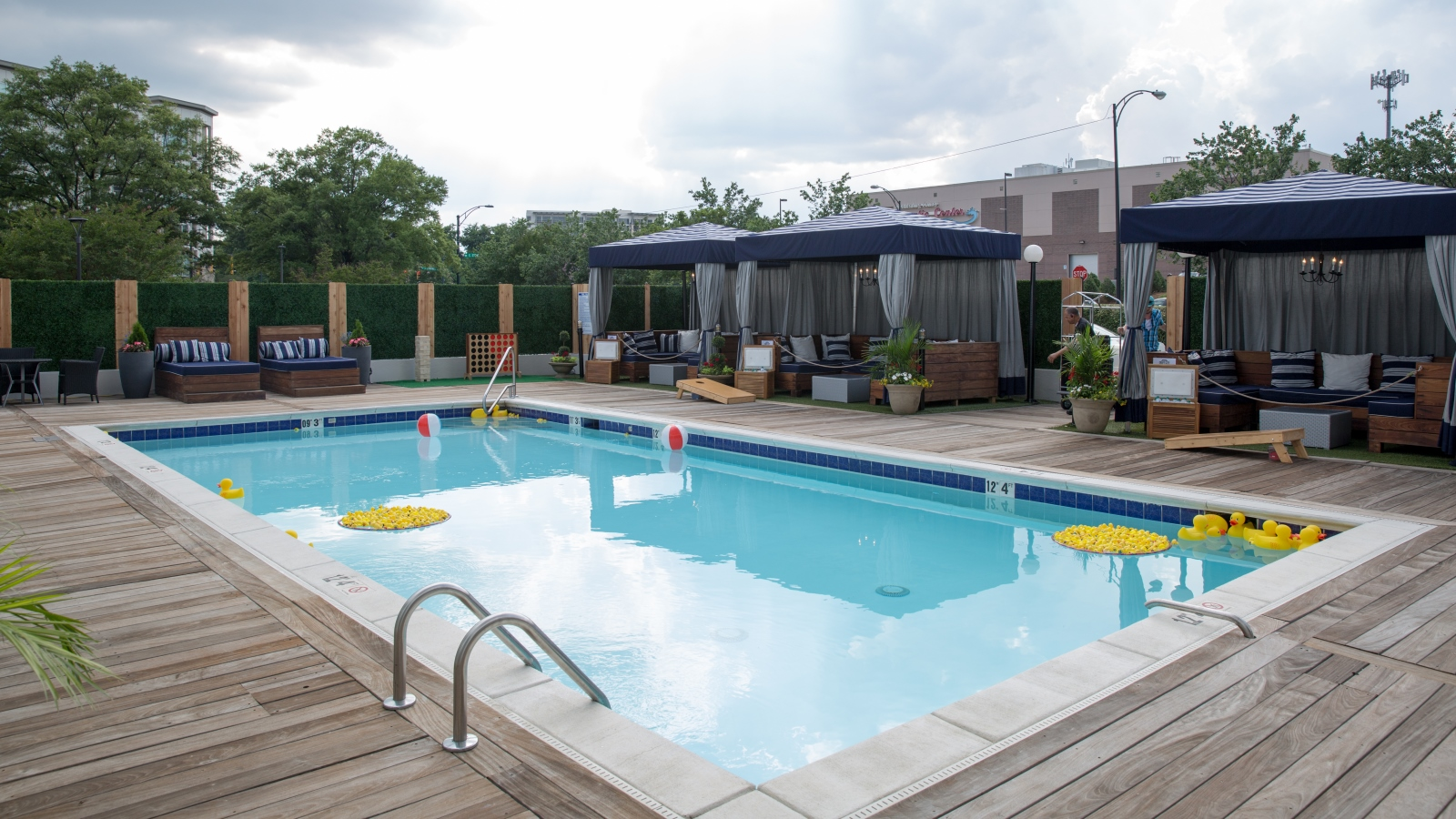 Charlotte Events - Sheraton Charlotte Hotel - Craft City Social Club Pool